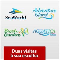 SeaWorld Orlando - Dois parques à sua escolha - Adulto ou Criança